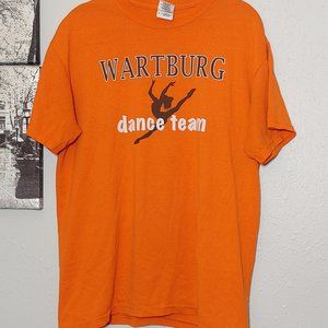 Wartburg College Dance Team MEDIUM shirt orange